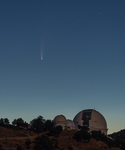 LH7432_Comet NEOWISE Over Lick Observatory