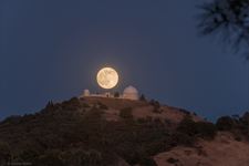 LH7406w_Pre-Solstice Lick Observatory Full Moonrise