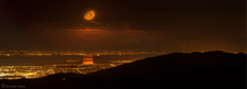 LH7421_San Francisco Bay Moonset Seen From Mount Hamilton