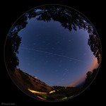 LH7435_Main Building-ISS-Star Trails